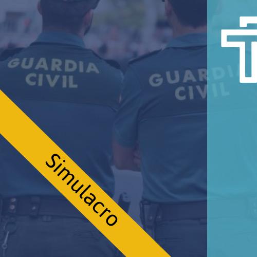 Simulacro Guardia Civil